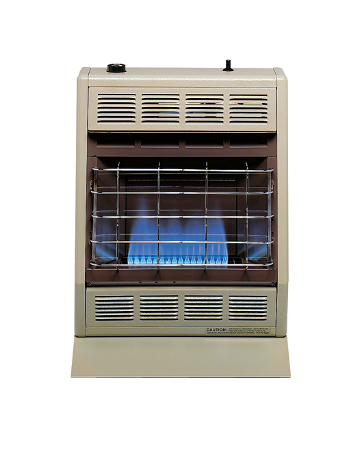Hearthrite Blue Flame Vent Free Heater LP 20,000 BTUS