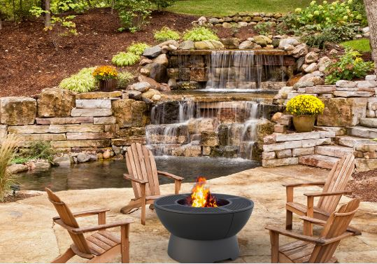 Hearthstone Fire Pit Grill