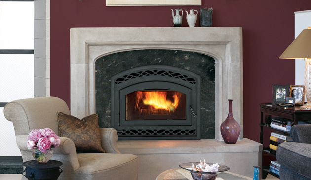 Astria Montecito EPA II-certified and Washington State-approved fireplace