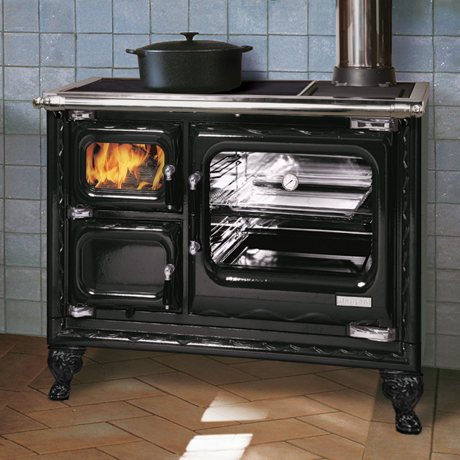 Hearthstone Deva Wood Cookstove